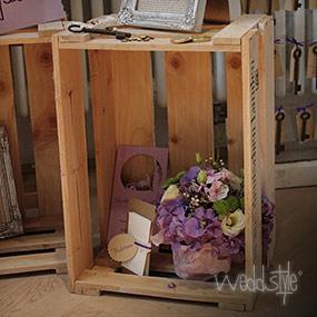 Vintage Hochzeit Weinkisten Und Kisten Weddstyle
